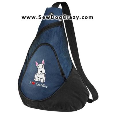 White Scottish Terrier Bag
