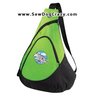 Embroidered Siberian Husky Agility Bags