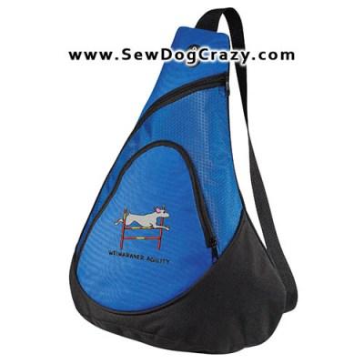Agility Dog Weimaraner Bag