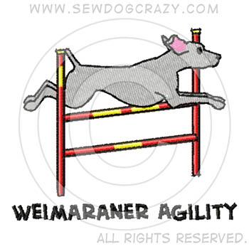 Weimaraner Agility Shirts