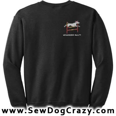 Bar Jump Weimaraner Sweatshirt