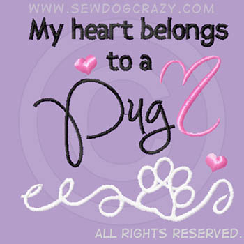 Heart Belongs to a Pug Shirts