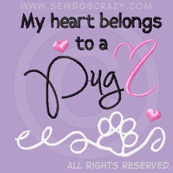 Heart Belongs to a Pug Shirts