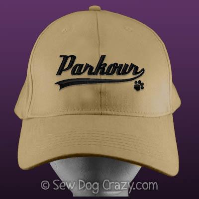 Embroidered Dog Parkour Hat