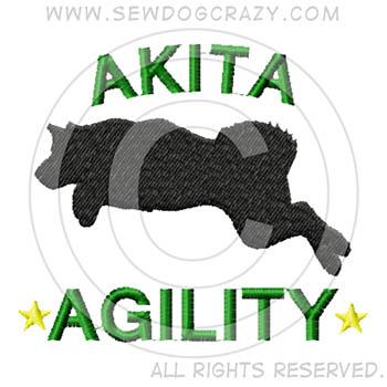 Akita Agility Shirts