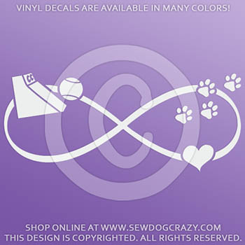 Flyball Box Vinyl Stickers