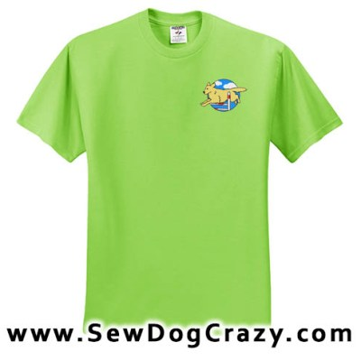 Golden Retriever Agility Tshirts