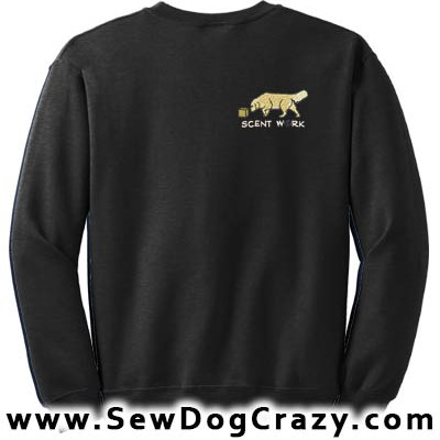 Golden Retriever Scent Work Sweatshirt