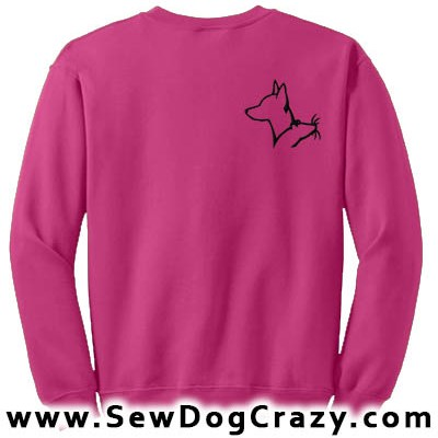 Miniature Pinscher Barn Hunt Sweatshirt