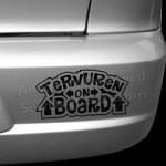 Vinyl Tervuren On Board Car Stickers