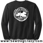 English Cocker Spaniel Agility Sweatshirts
