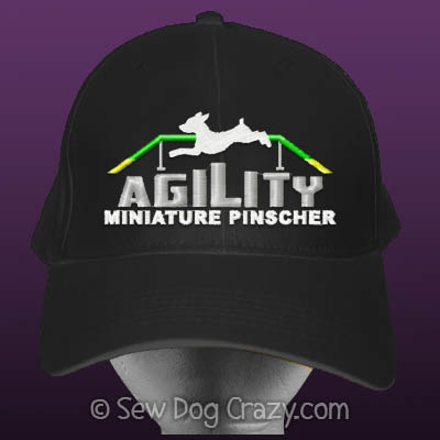 Min Pin Agility Hat