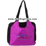 Run Agility Drink Wine Embroidered Tote Bag