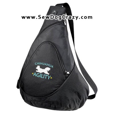 Longhaired Chihuahua Agility Bags