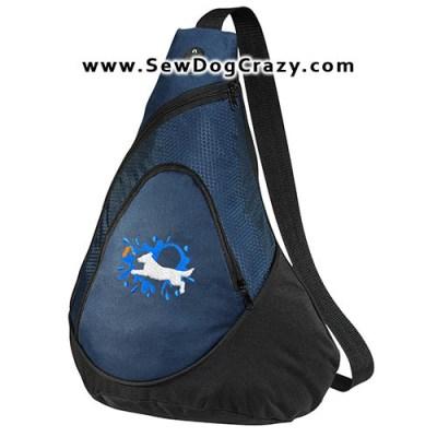 Flat Coated Retriever Dock Jumping Bags