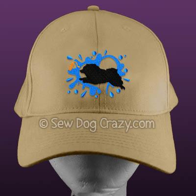 Keeshond Dock Jumping Hats