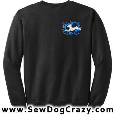 Min Pin Dock Jumping Sweatshirts