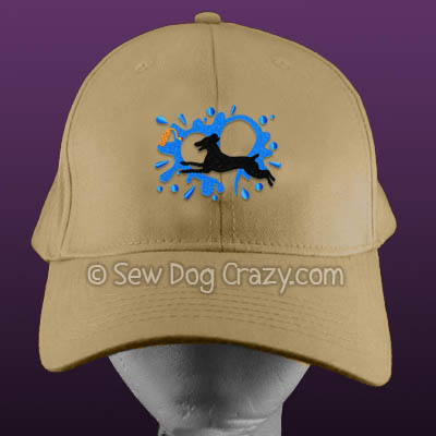German Shorthaired Pointer Dock Jumping Hat