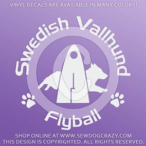 Swedish Vallhund Flyball Decals