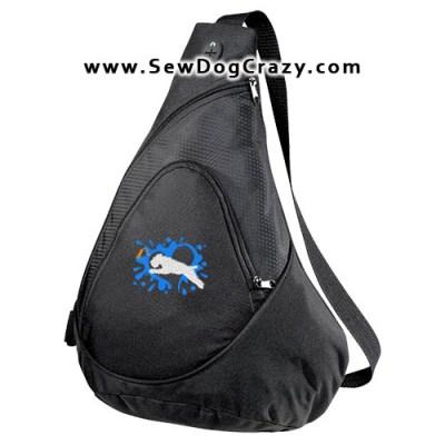 Soft Coated Wheaten Terrier Dock Jumping Bag