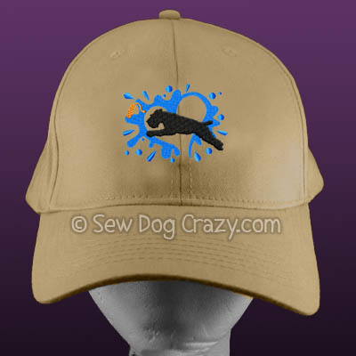 Soft Coated Wheaten Terrier Dock Jumping Hat