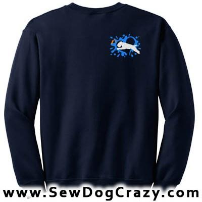 Wheaten Terrier Dock Jumping Sweatshirts