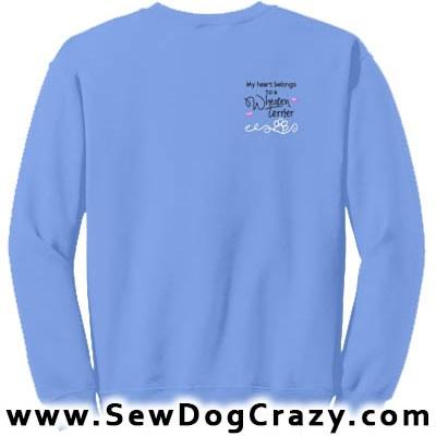 Pretty Wheaten Terrier Sweatshirts