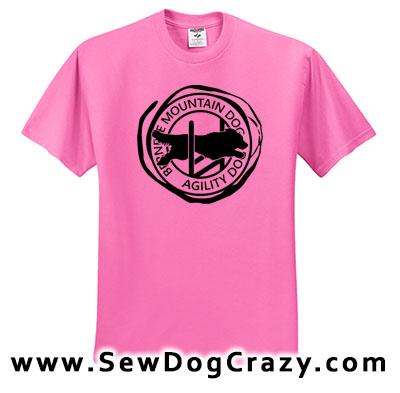 Bernese Mountain Dog Agility Tees