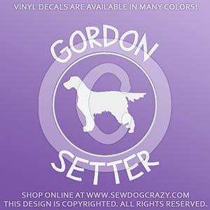 Gordon Setter Decals