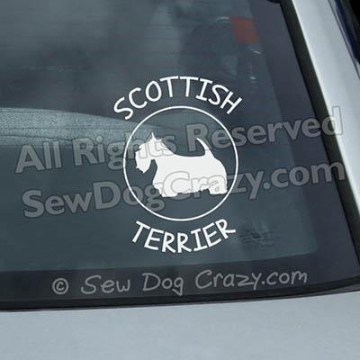 Scottish Terrier Decals