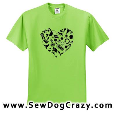Love Performance Dog Tees