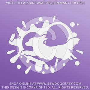 Kooiker Dock Diving Vinyl Stickers