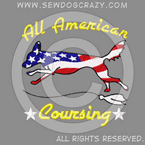 Embroidered All American Lure Coursing Shirts