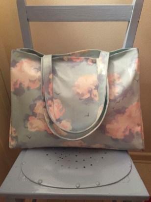 Oilcloth Shopper Tote Bag