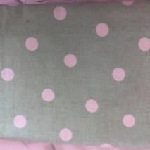 41 mint green dotty