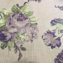 31 rose linen floral