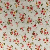 37 linen floral