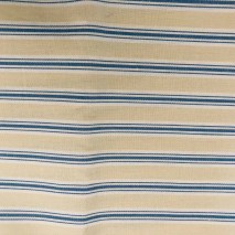 12 ticking stripe withh blue