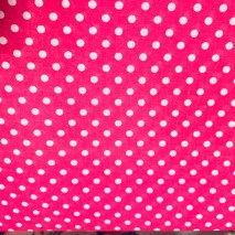 14 - Bright Pink Dotty