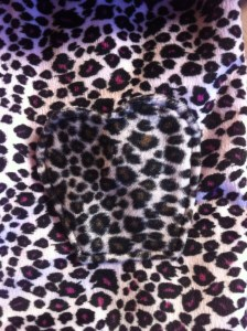 Fake-Fur Jacke Detail