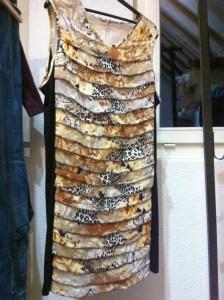 Sommerkleid mit Stufen