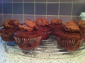 Cupcakes mit Topping