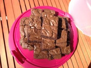 brownies backen