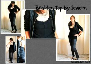 braided top collage by mäusekinds welt