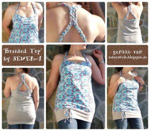 braided top collage by sabseswelt