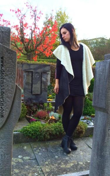Mantel Friedhof Grabsteine