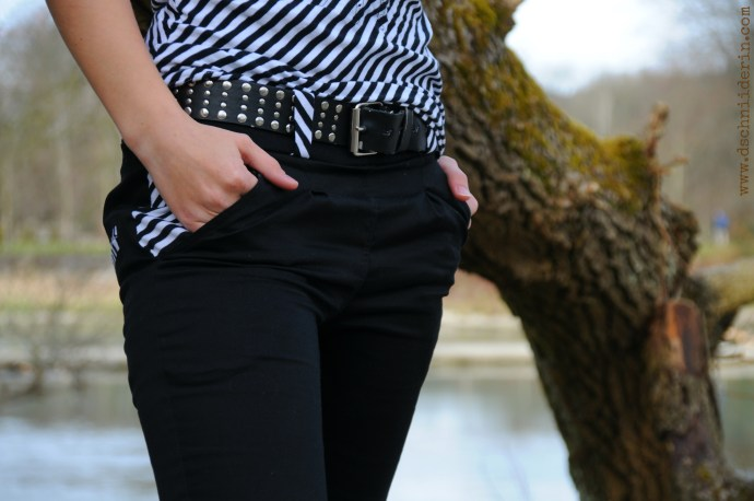 Sewing pockets Hosentaschen nähen