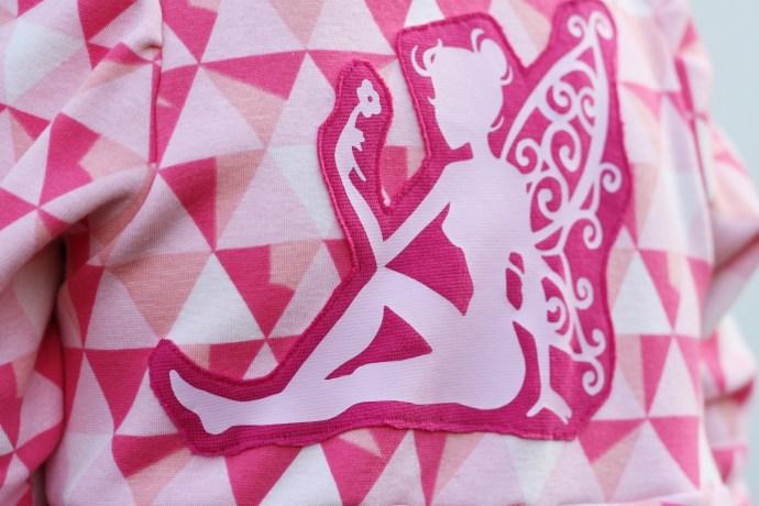 fairy pink dress