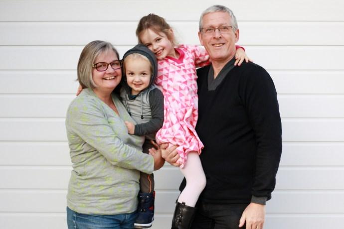 hugging family in co-z