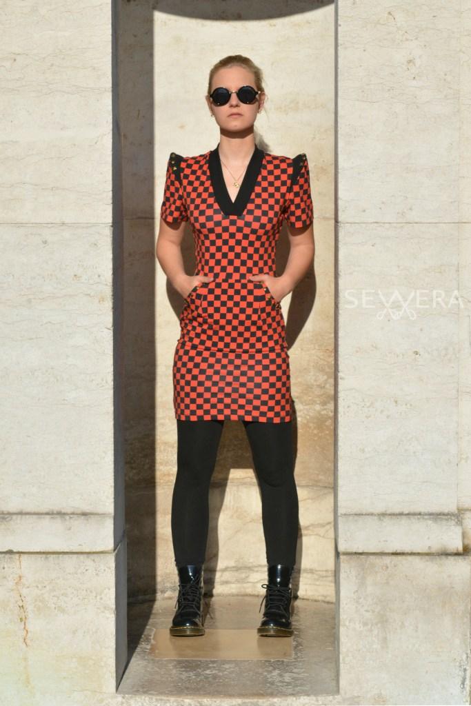 Punkkleid selber nähen Schnittmuster und Anleitung